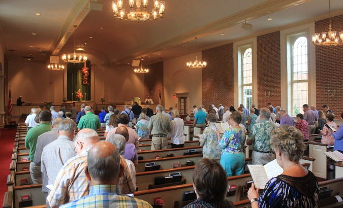 Traditional Worship Service<br />