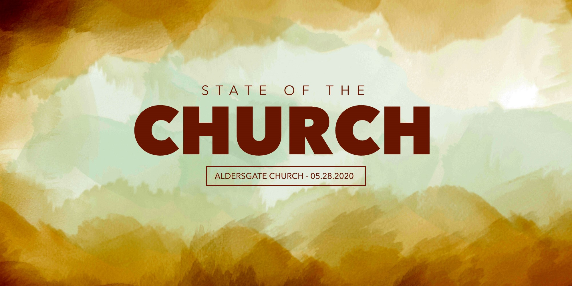 State of Our Church: 05.28.2020