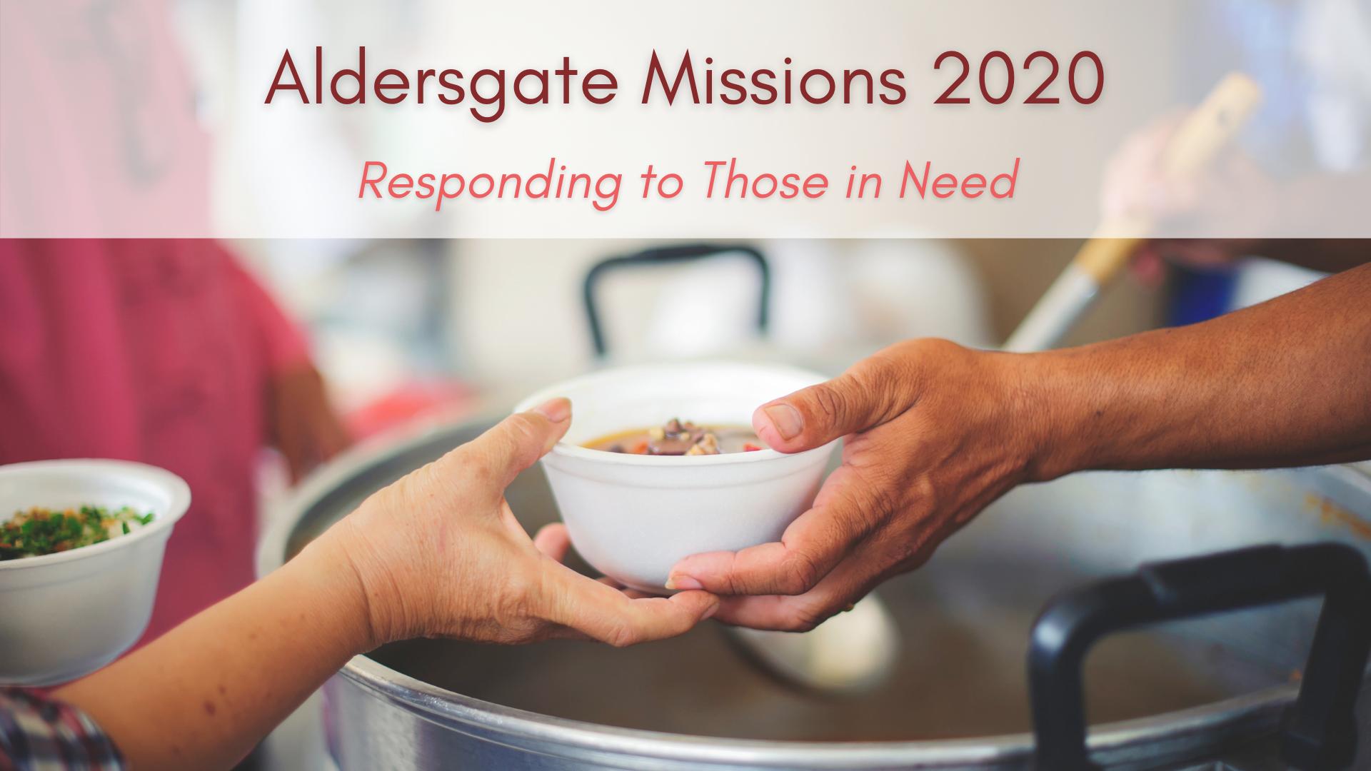 Aldersgate Missions: 2020
