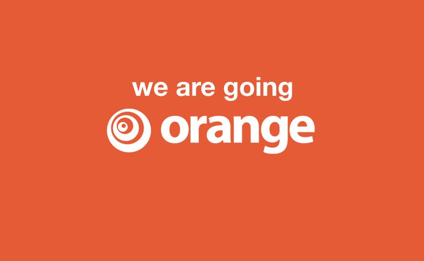 We're Going Orange