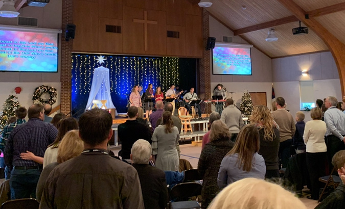 Contemporary Worship Service<br />