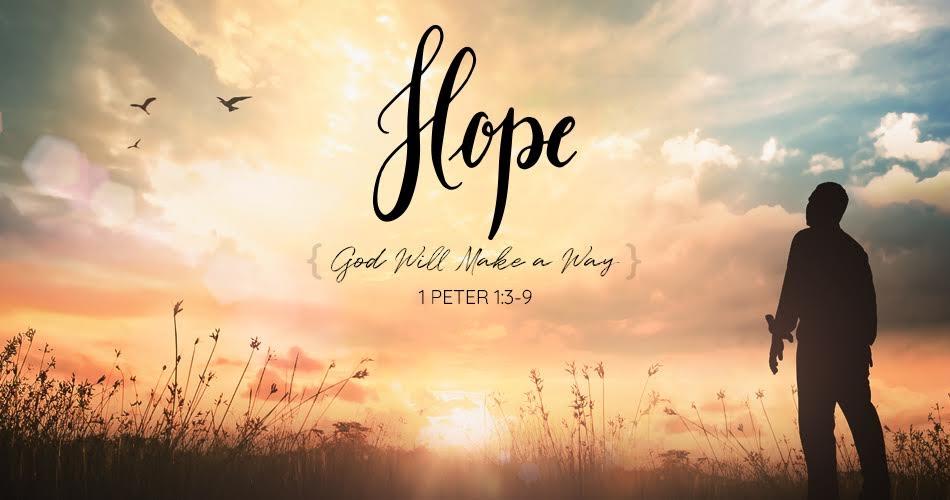 Hope: God Will Make a Way