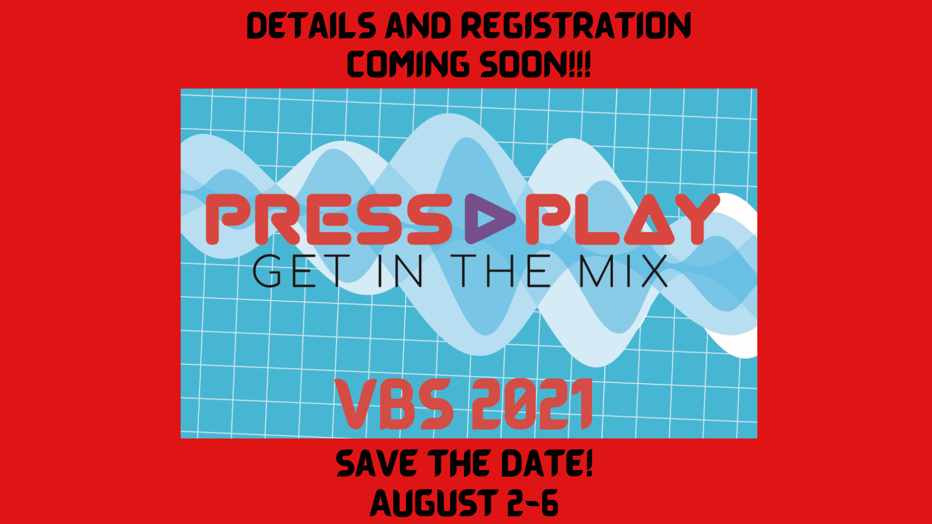 In-Person VBS 2021!