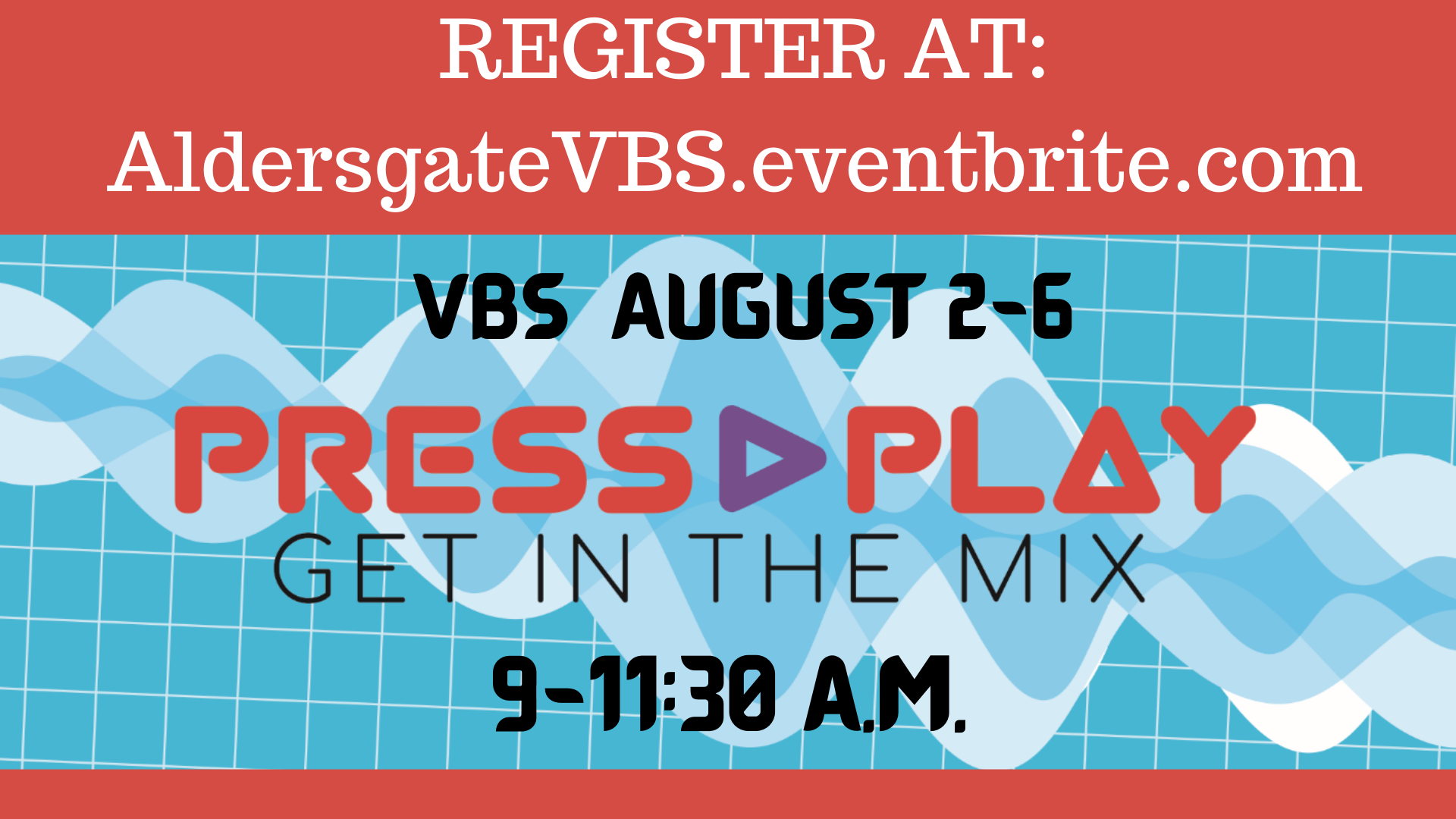 Register for In-Person VBS 2021!