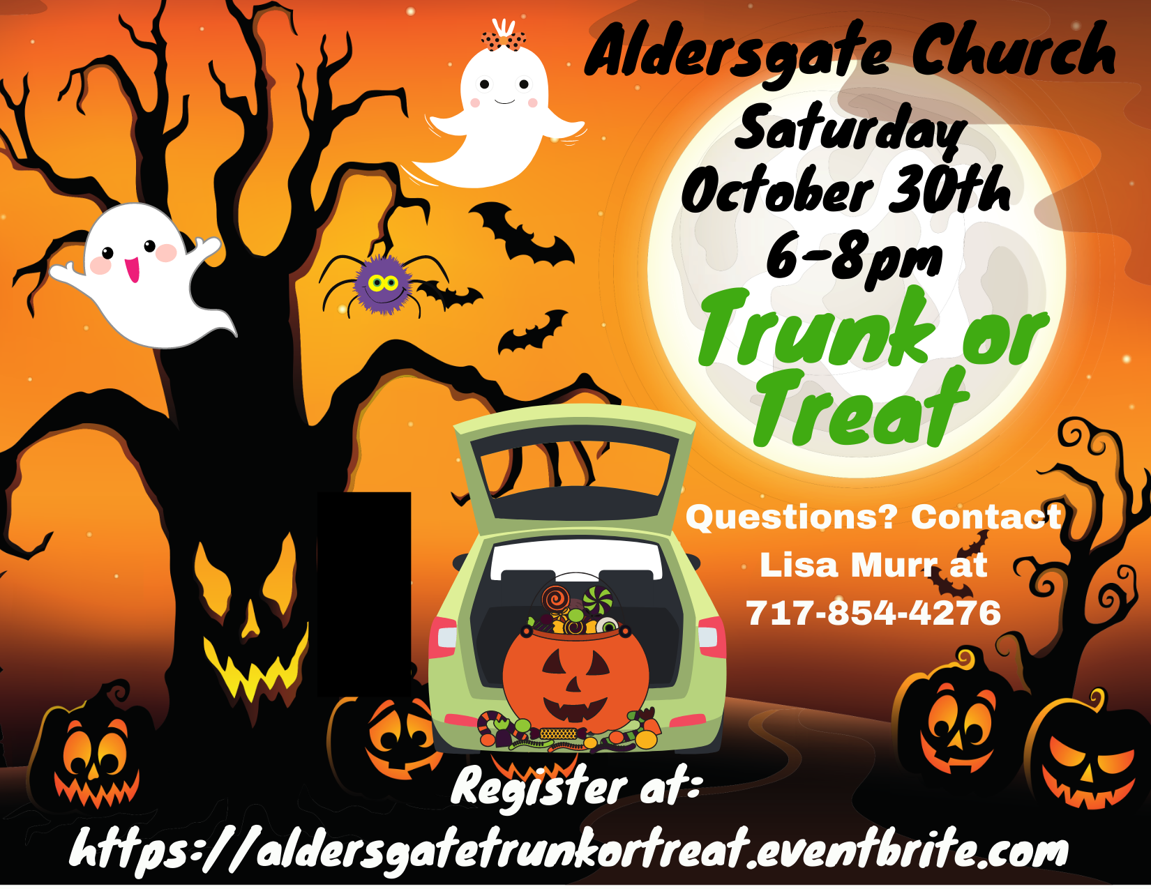 Trunk or Treat is right around the corner!